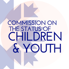 Commission on the Status of Children and Youth Logo