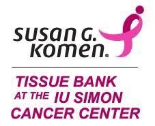 Susan G. Komen Tissue Bank - IU Simon Cancer Center logo